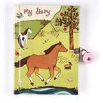 Mudpuppy abschließbares Tagebuch Pferde oder Superheroes