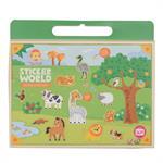 Tiger Tribe Kreativspiel Stickerwelt