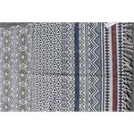 Lafinesse Handwebteppich Ethnomuster Baumwolle 90x150 cm