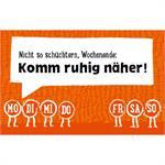 Gutsch Verlag Magnet mit Sprüchen und Weisheiten Scheckkartenfor