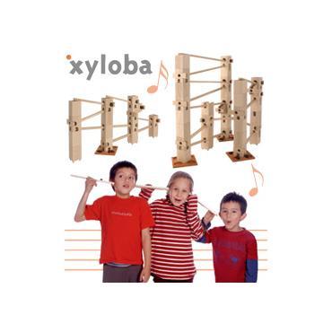 Xyloba Musik-Kugelbahn