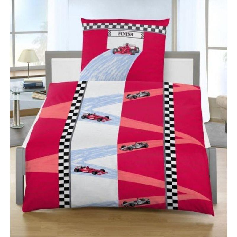 dobnig 4429 children bed sheets race car noble linon oeko