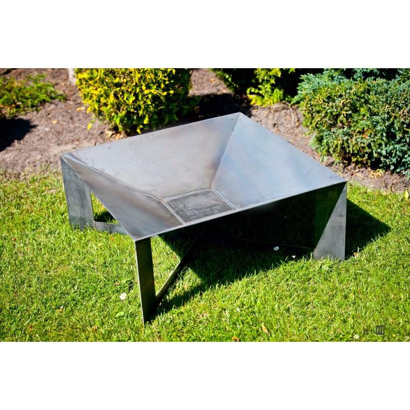 farmcook vasque feu pan 34 acier non trait e feu de la. Black Bedroom Furniture Sets. Home Design Ideas