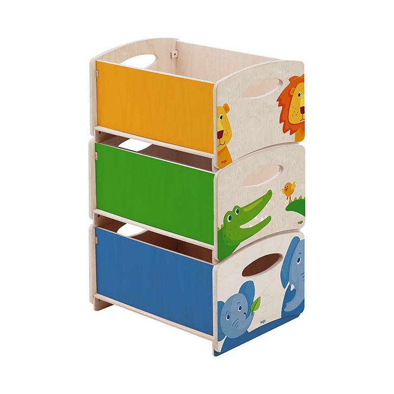Haba stapelkisten zoo 3er set - Stapelboxen kinderzimmer ...