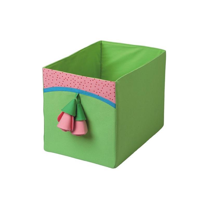 haba 8130 faltkasten rosen spielzeugkiste ebay. Black Bedroom Furniture Sets. Home Design Ideas