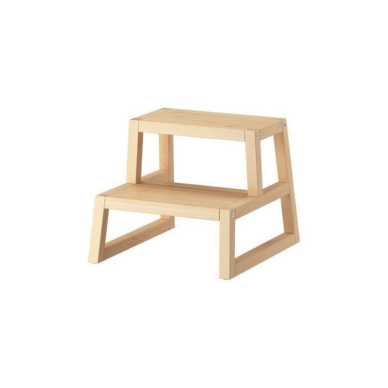 ikea tritthocker molger in 2 farben neu ovp ebay. Black Bedroom Furniture Sets. Home Design Ideas