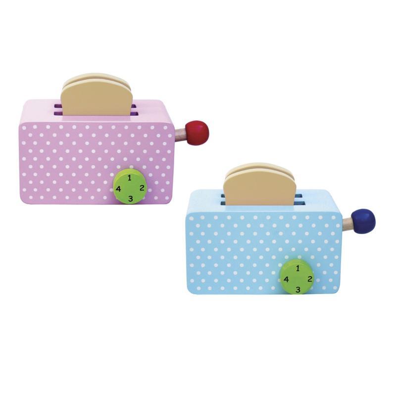 jabadabado toaster für die kinderküche holz 2 farben   ebay
