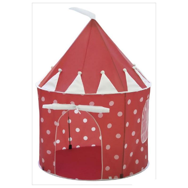 kids concept spielzelt glückspilz rot-weiß gepunktet - Kinderzimmer Rot Weis Gepunktet