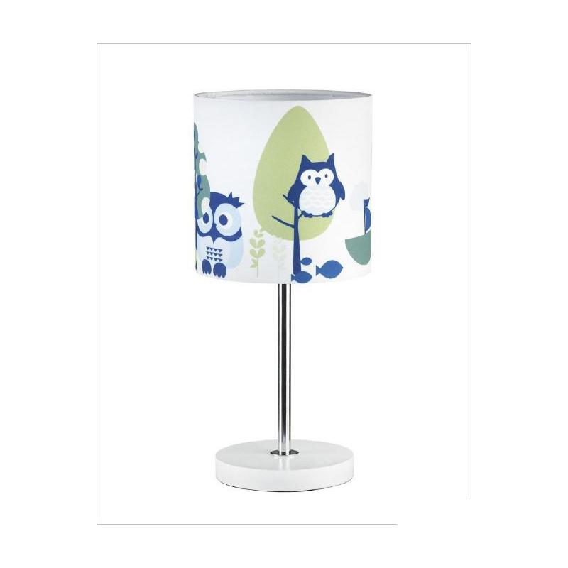 lampe de table potiron bleu hibou lampe de chevet ebay. Black Bedroom Furniture Sets. Home Design Ideas