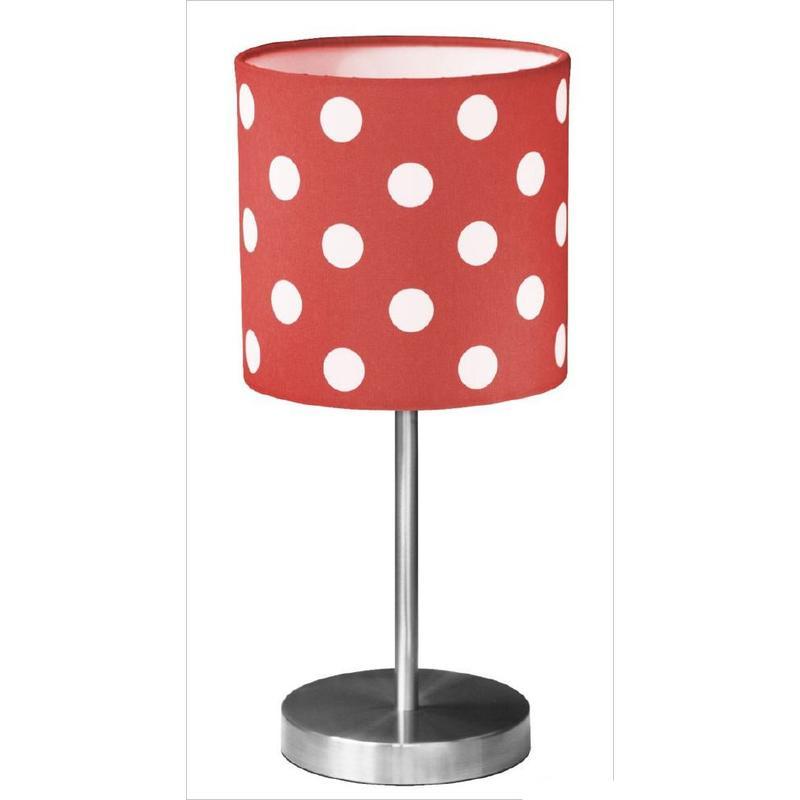 kids concept tischlampe star rot-weiß gepunktet - Kinderzimmer Rot Weis Gepunktet