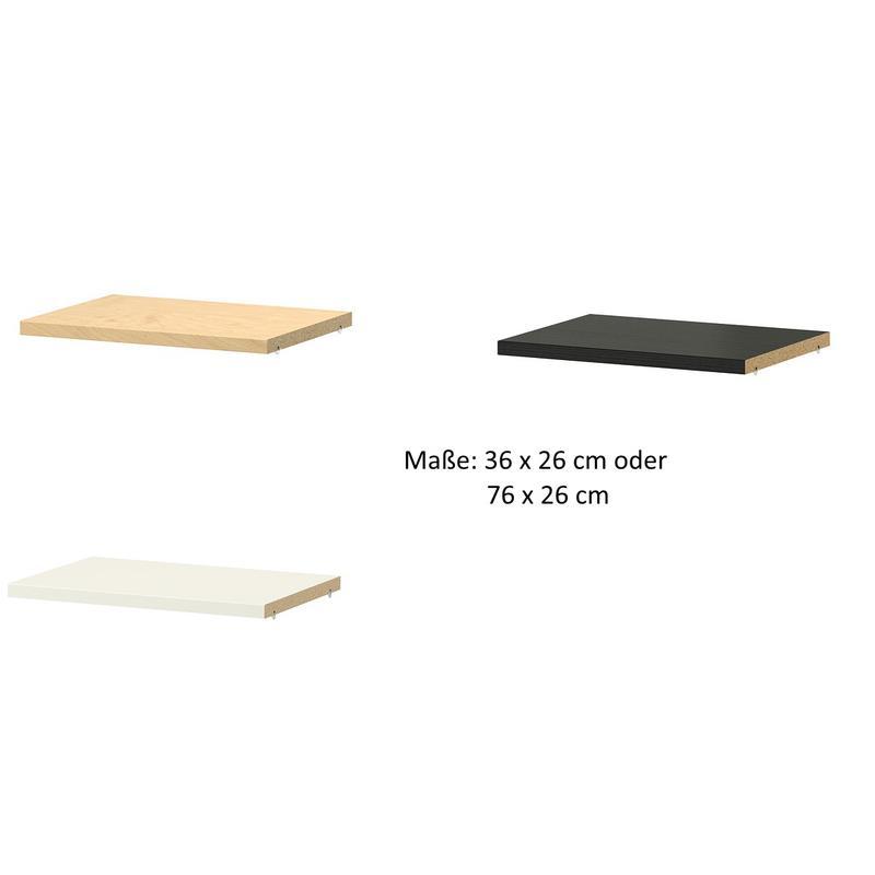 ikea extra mensola per billy 2 misure 3 colori ebay. Black Bedroom Furniture Sets. Home Design Ideas