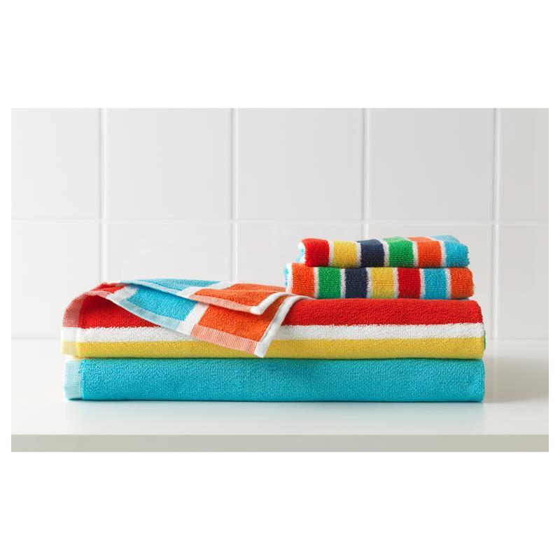 ikea handtuch bokvik bunt in 4 gr en ebay. Black Bedroom Furniture Sets. Home Design Ideas