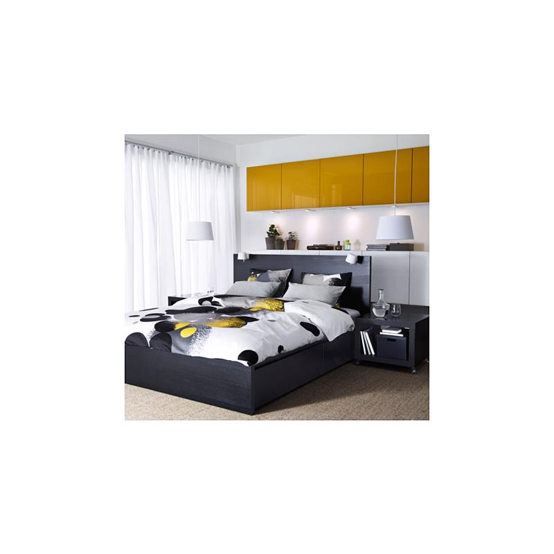 ikea bettw sche bolltistel gelb drei gr en satin ebay. Black Bedroom Furniture Sets. Home Design Ideas