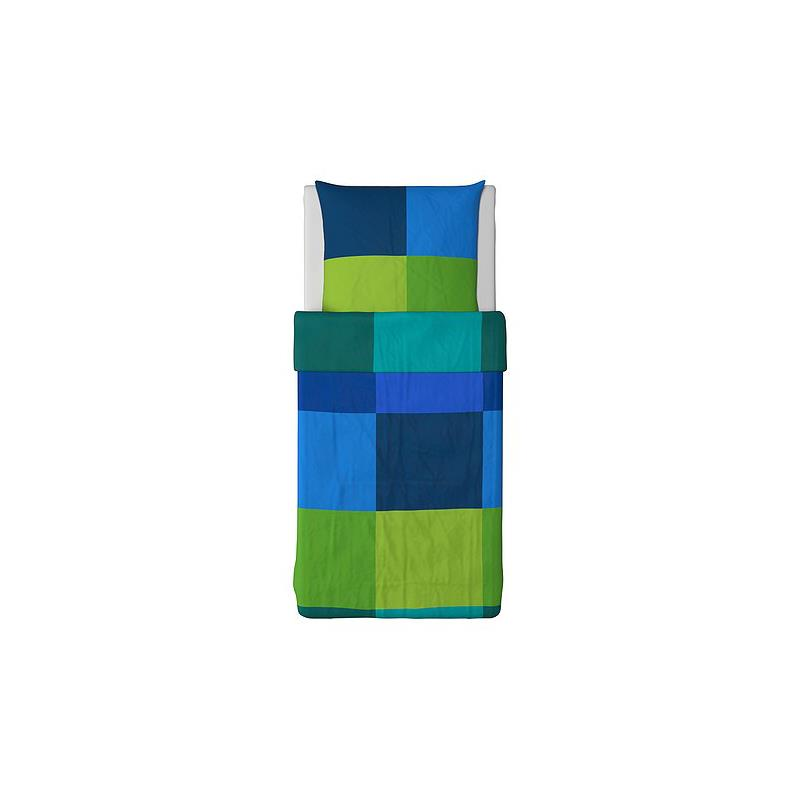 ikea bettw sche brunkrissla blau drei gr en ebay. Black Bedroom Furniture Sets. Home Design Ideas