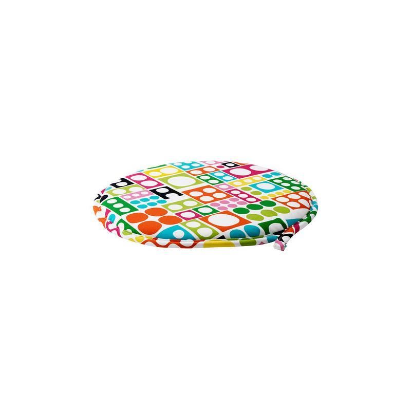 ikea coussin de chaise cilla rond 3 couleurs adapt aux tabouret et chaises ebay. Black Bedroom Furniture Sets. Home Design Ideas