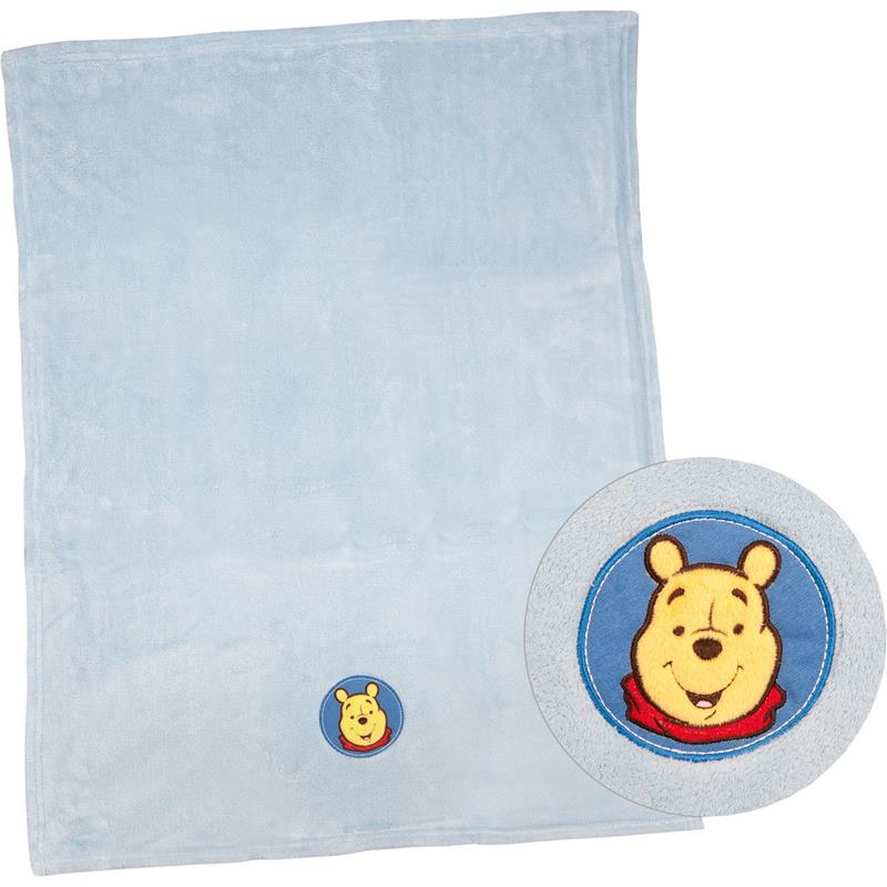 herding set baby kuscheldecke mit kissen winnie the pooh hellblau ebay. Black Bedroom Furniture Sets. Home Design Ideas