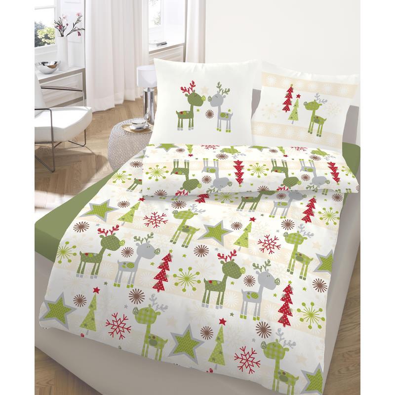 dobnig 651734 bettw sche elch fein biber kotex ebay. Black Bedroom Furniture Sets. Home Design Ideas