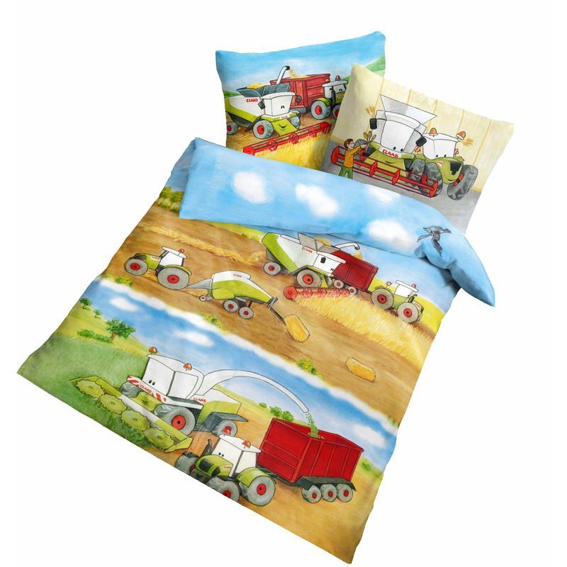 dobnig baby bettw sche claas traktoren fein biber kotex. Black Bedroom Furniture Sets. Home Design Ideas