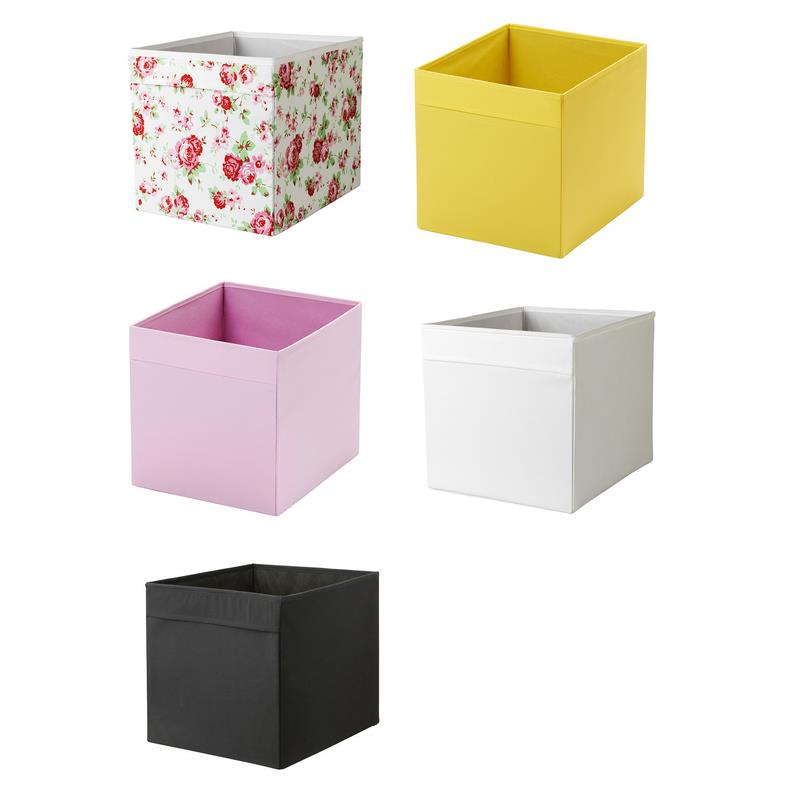 Ikea Folding Box Drona Storage Box In 7 Colours Ebay