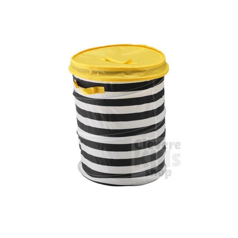 Ikea cesta del juguete con tapa flyttbar 2 colores ropa for Cajas almacenamiento ikea