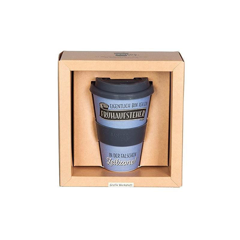 mehrwegbecher coffee to go becher bambus kaffeebecher 0 4 l ebay. Black Bedroom Furniture Sets. Home Design Ideas