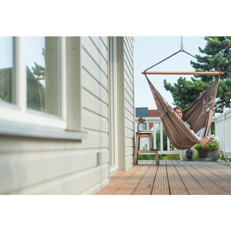 la siesta riesen h ngestuhl lounger habana chocolate kba. Black Bedroom Furniture Sets. Home Design Ideas