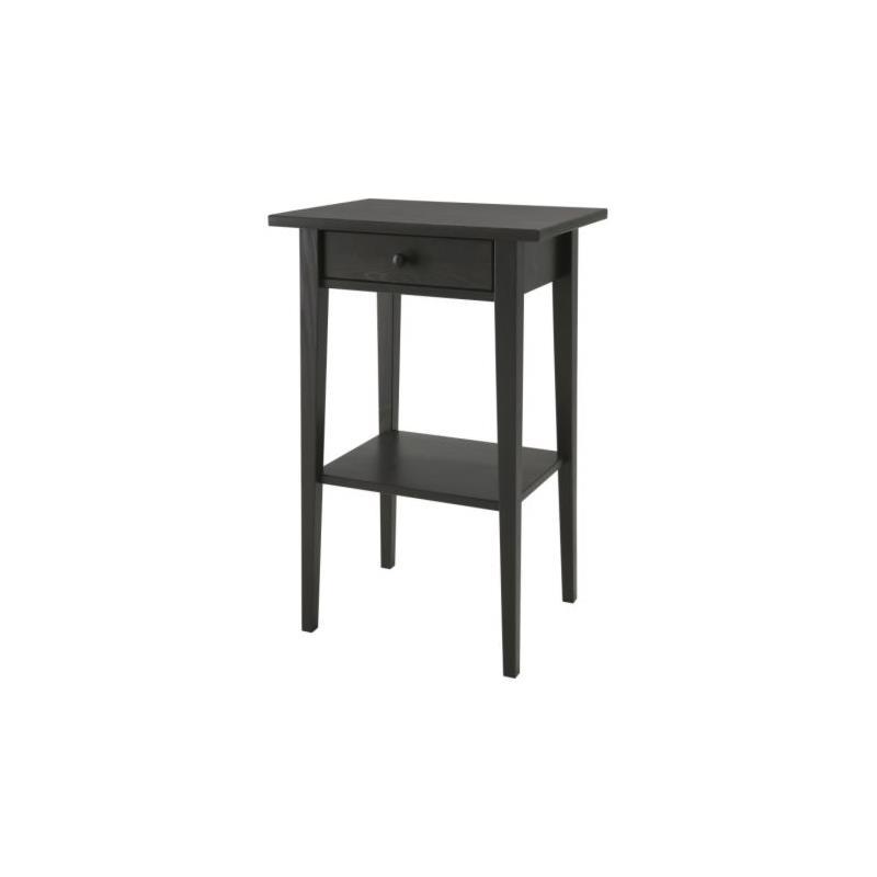 ikea ablagetisch hemnes nachttisch massivholz 3 farben ebay. Black Bedroom Furniture Sets. Home Design Ideas