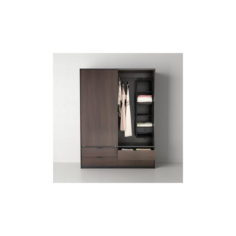 ikea rangement skubb 6 ventails tag res suspendre penderie 3 couleurs ebay. Black Bedroom Furniture Sets. Home Design Ideas