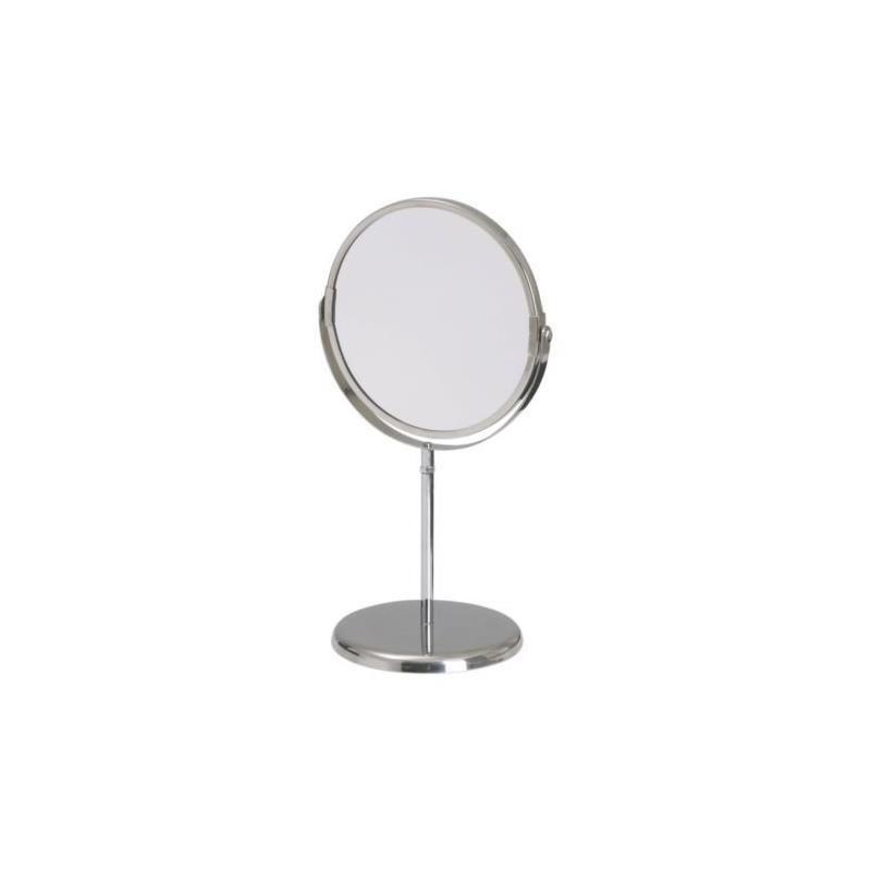 ikea schminkspiegel trensum edelstahl mit vergr erung kosmetikspiegel ebay. Black Bedroom Furniture Sets. Home Design Ideas