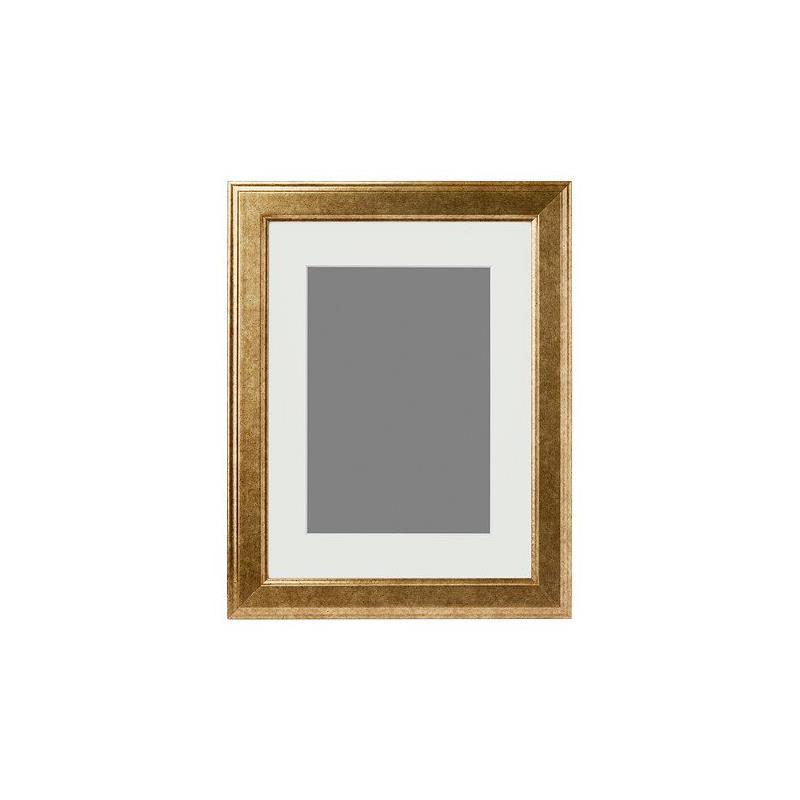 ikea picture frame virserum antique gold a4 format ebay. Black Bedroom Furniture Sets. Home Design Ideas