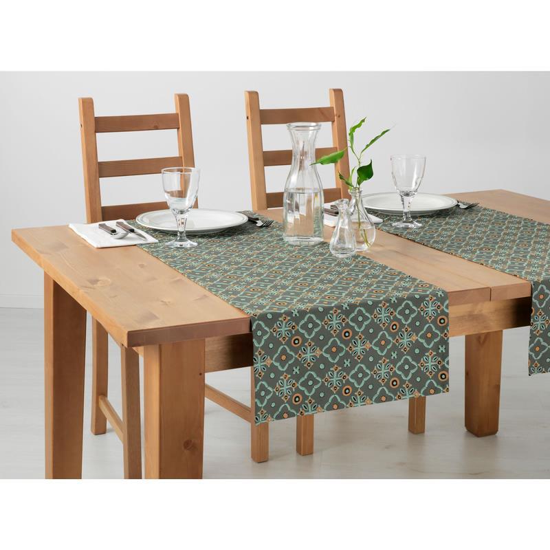 Ikea camino de mesa judit naranja oliva ebay - Caminos de mesa ikea ...