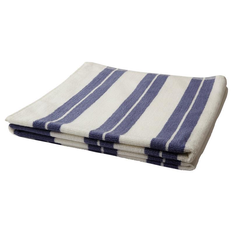 ikea handtuch kalvsj n blau braun wei in 4 gr en ebay. Black Bedroom Furniture Sets. Home Design Ideas