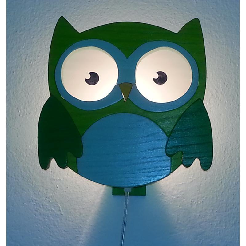 Berühmt Wandlampe Kinderzimmer Eule Ideen - Die besten ...