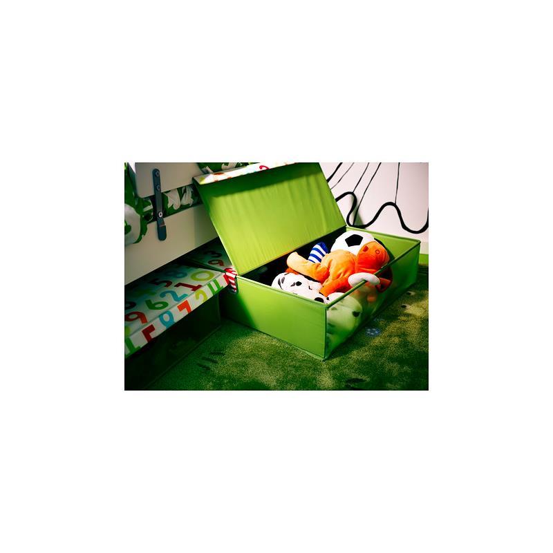 ikea bettkasten kusiner aufbewahrungsbox mit deckel ebay. Black Bedroom Furniture Sets. Home Design Ideas