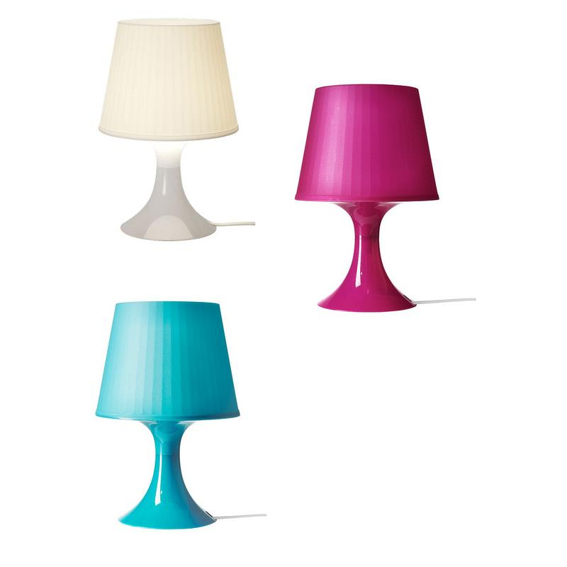 Ikea Table Lamp Lampan In 3 Colours Bedside Lamp Ebay