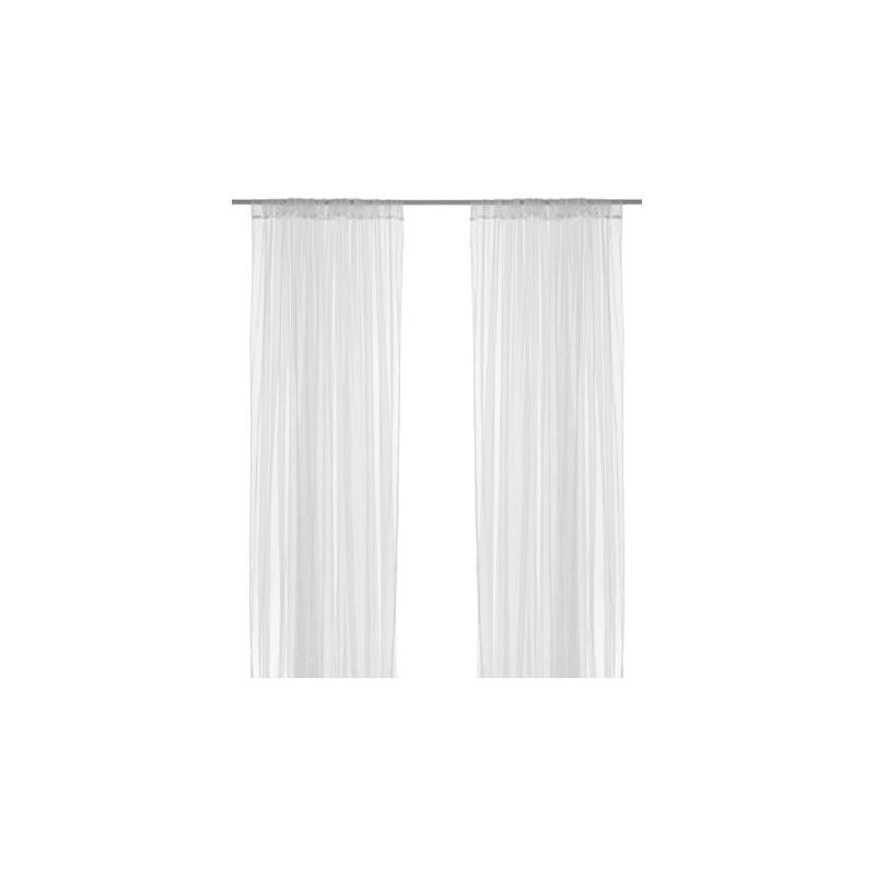 ikea gardinenschal lill wei store paar vorh nge ebay. Black Bedroom Furniture Sets. Home Design Ideas