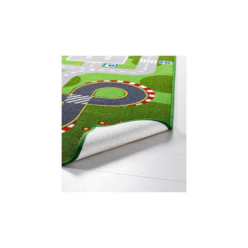 Du00e9tails sur IKEA Tapis de jeu LILLABO Tapis routier Hippodrome ...