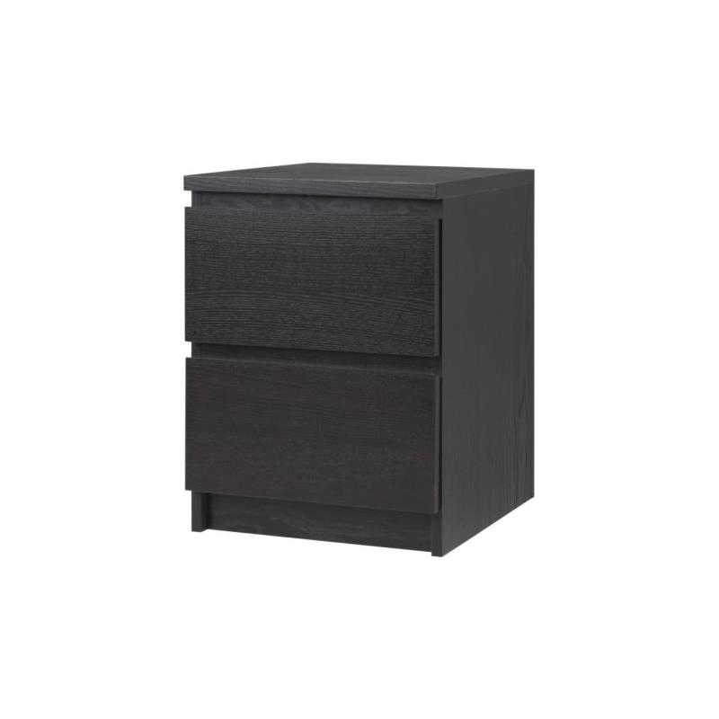 ikea commode malm 2 tiroirs table de nuit table armoire 5 couleurs ebay. Black Bedroom Furniture Sets. Home Design Ideas