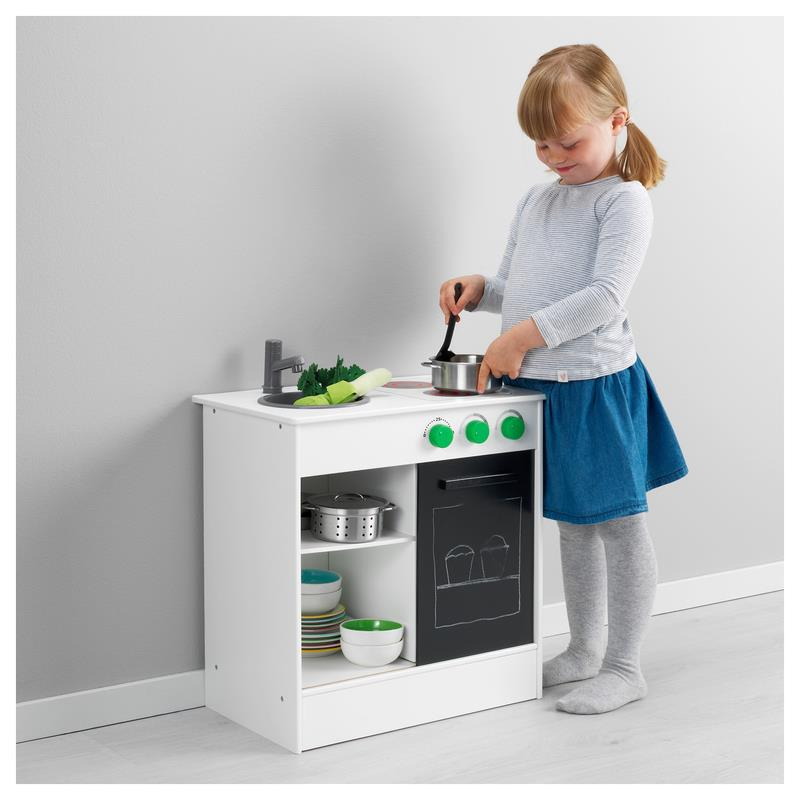 ikea play kitchen nybakad wood children 39 s kitchen ebay. Black Bedroom Furniture Sets. Home Design Ideas