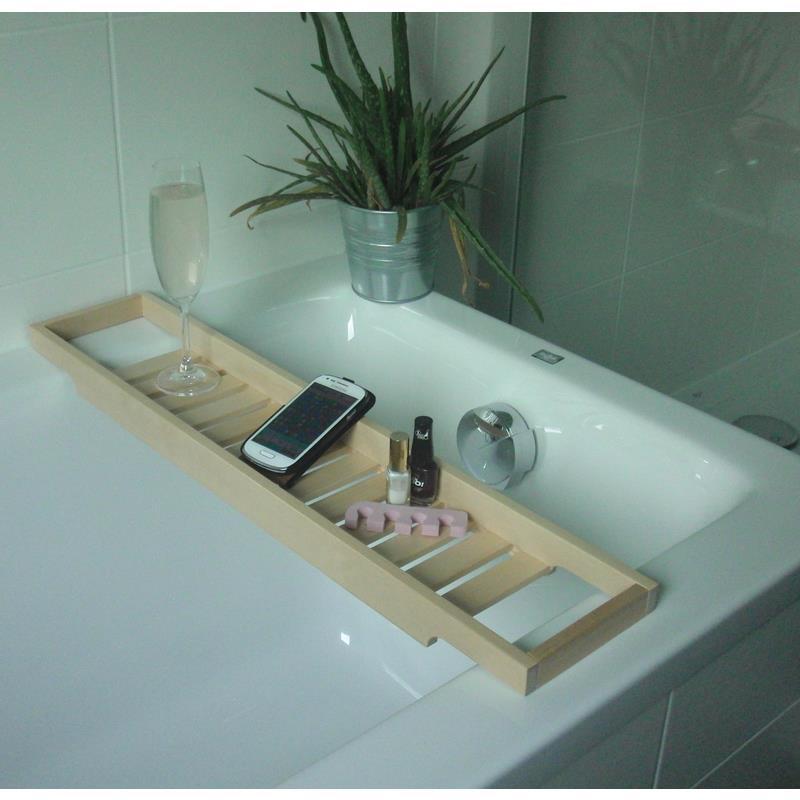 Ikea depose pour baignoire rehamn plateau de bain bois massif couleur ebay - Plateau bois massif ikea ...