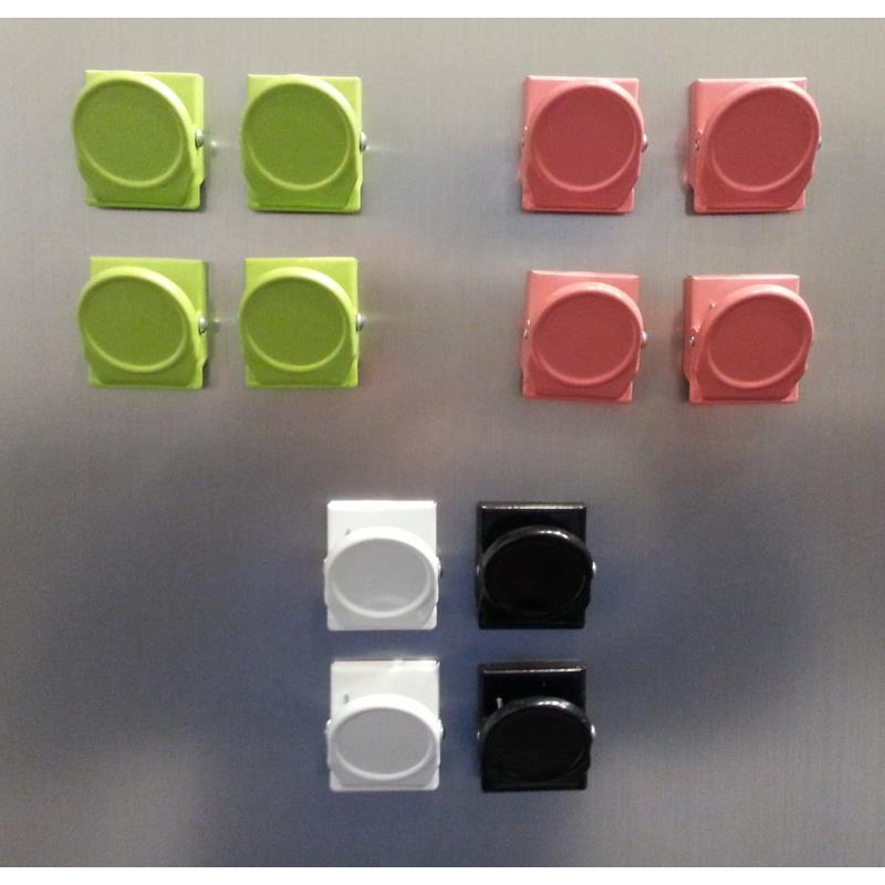 Ikea Magnetic Clips Oleby Magnet Set 4 Piece 3 Colors