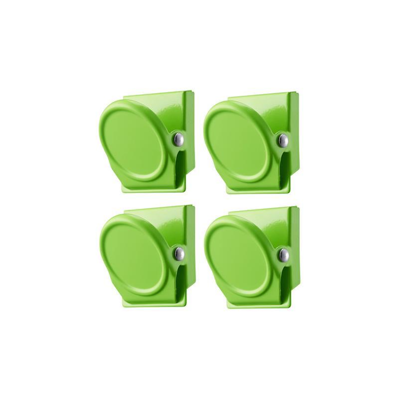 ikea magnetic clips oleby magnet set 4 piece 3 colors. Black Bedroom Furniture Sets. Home Design Ideas