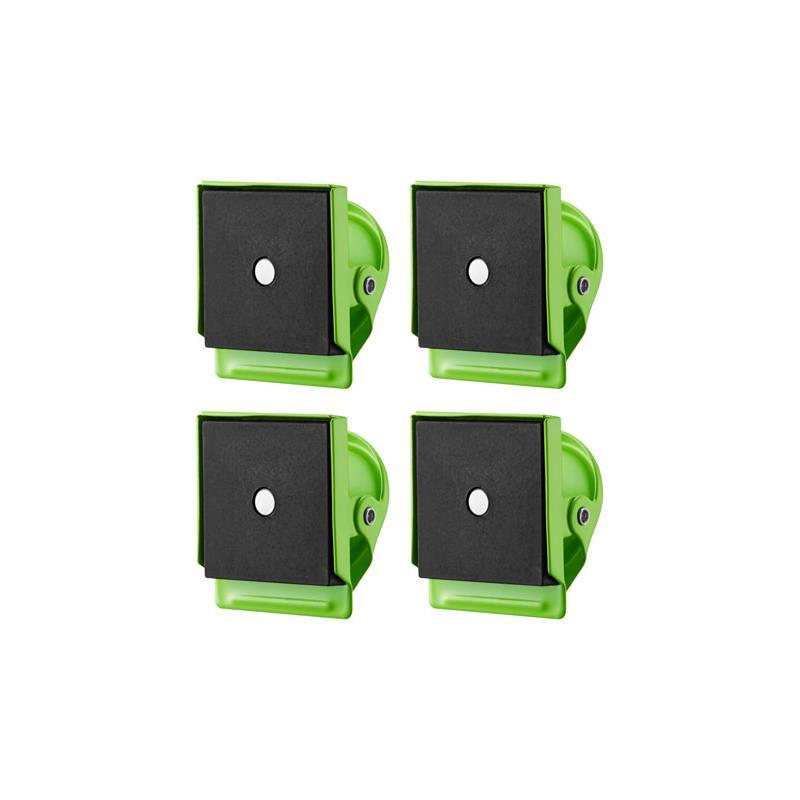 ikea magnetische clips oleby magneten set 4 st ck 3 farben. Black Bedroom Furniture Sets. Home Design Ideas