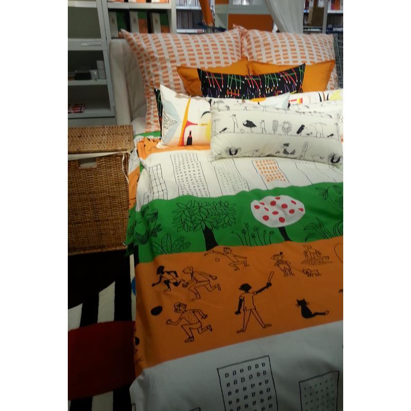 ikea kinder bettw sche nskedr m 140 x 200 ebay. Black Bedroom Furniture Sets. Home Design Ideas