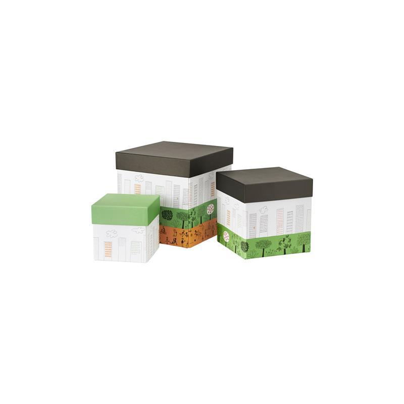 Ikea bo tes de rangement nskedr m set 3 pi ce for Boites de rangement decoratives
