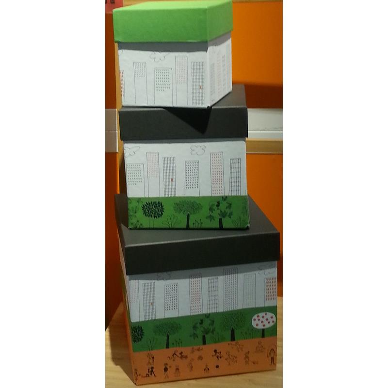 Ikea bo tes de rangement nskedr m set 3 pi ce ebay - Boite de rangement ikea empilable ...