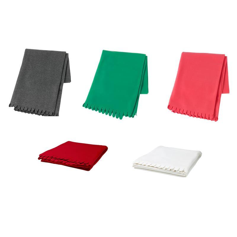 ikea fleecedecke polarvide 130x170 cm in 5 farben. Black Bedroom Furniture Sets. Home Design Ideas