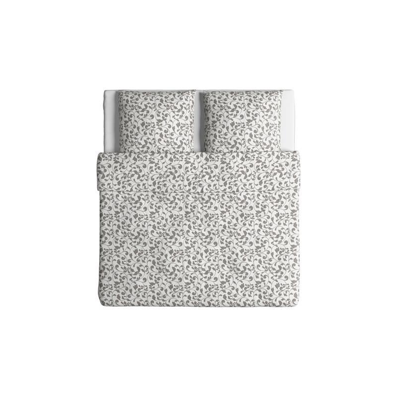 Ikea ropa de cama rostvin tres tama os blanco gris - Ropa de cama en ikea ...