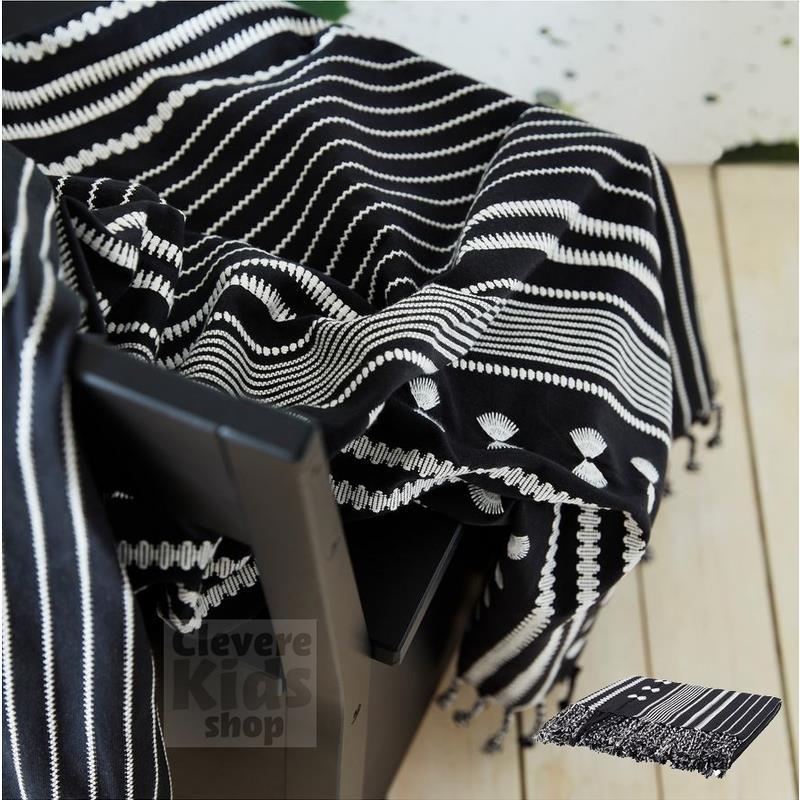 ikea plaid s llskap schwarz wei kuscheldecke tagesdecke. Black Bedroom Furniture Sets. Home Design Ideas