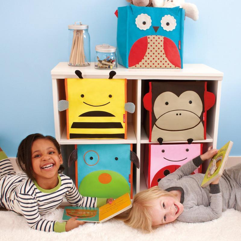 skip hop zoo aufbewahrungsbox marienk fer. Black Bedroom Furniture Sets. Home Design Ideas